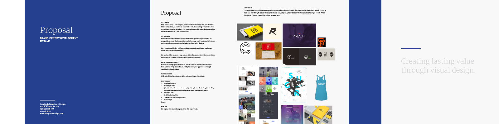 Example of a Creative Brief/Proposal