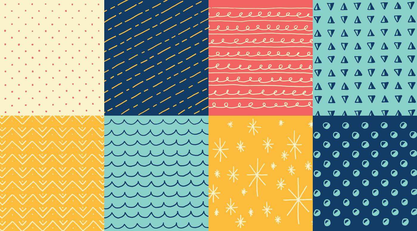 Bon-Bons-Handdrawn-Patterns