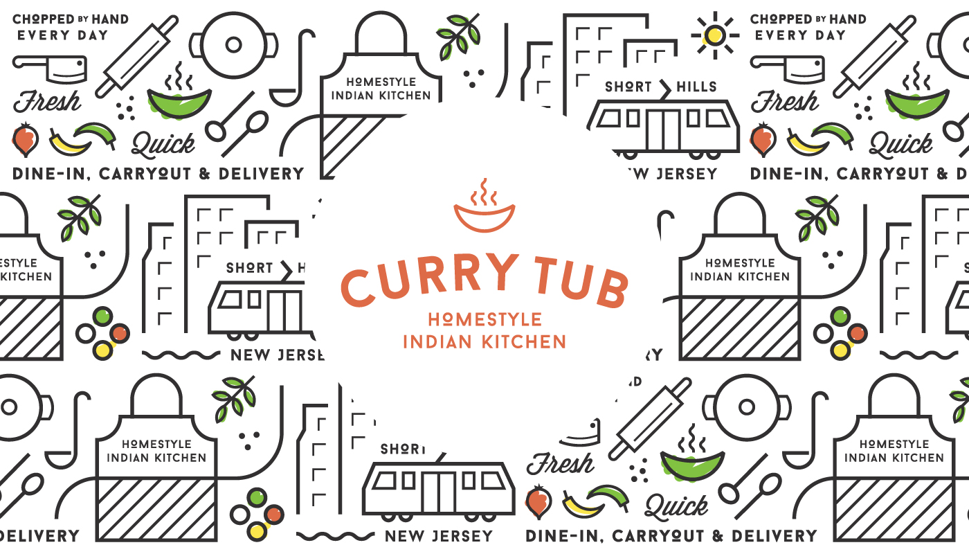 Curry-tub-Logo-Pattern