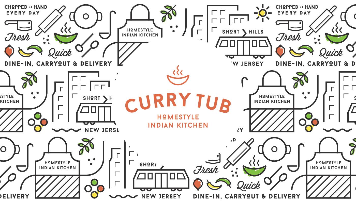 Curry-tub-Logo-Pattern
