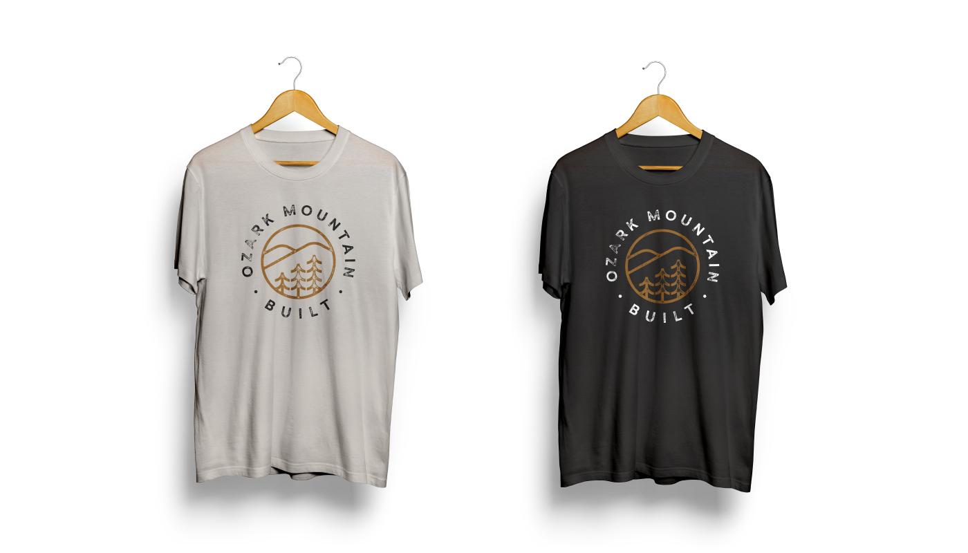 Shirts-Ozark Mountain Built