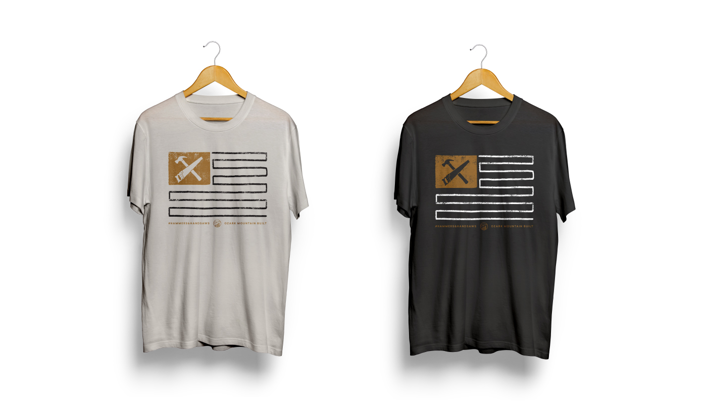 Hammers & Handsaws Shirt Design