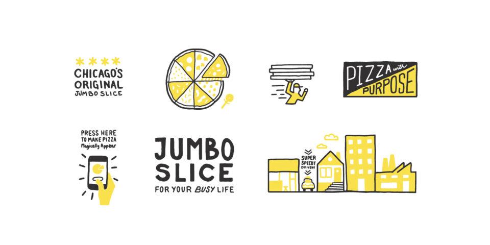 pizza, logo, restaurant, branding, dustin myers, springfield, Missouri, chicago