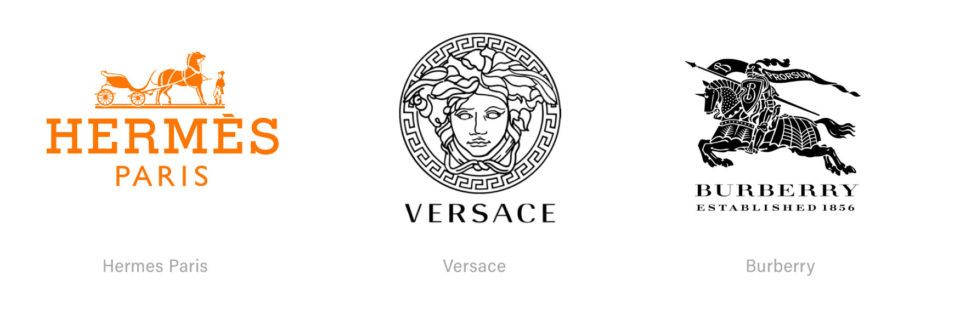 Luxury Logo Designs with Ornate Detail