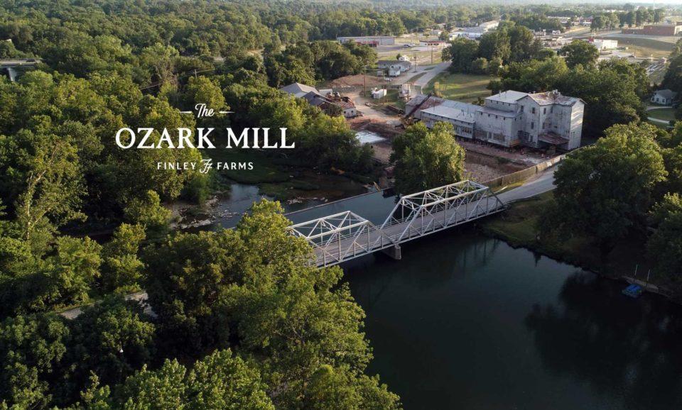 Hospitality Branding, Ozark Mill branding
