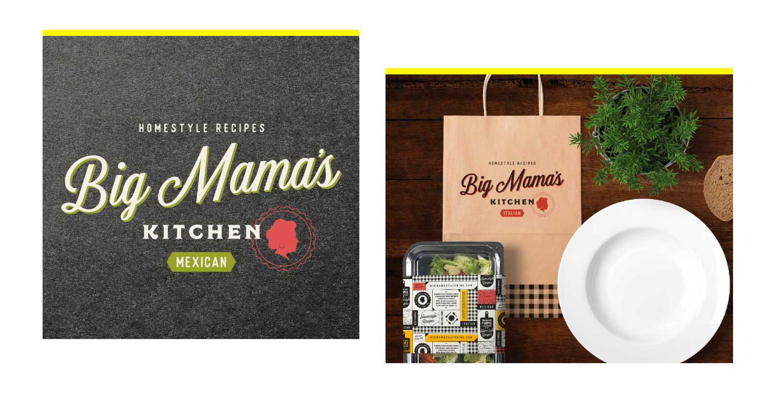 Homestyle Kitchen Branding Examples