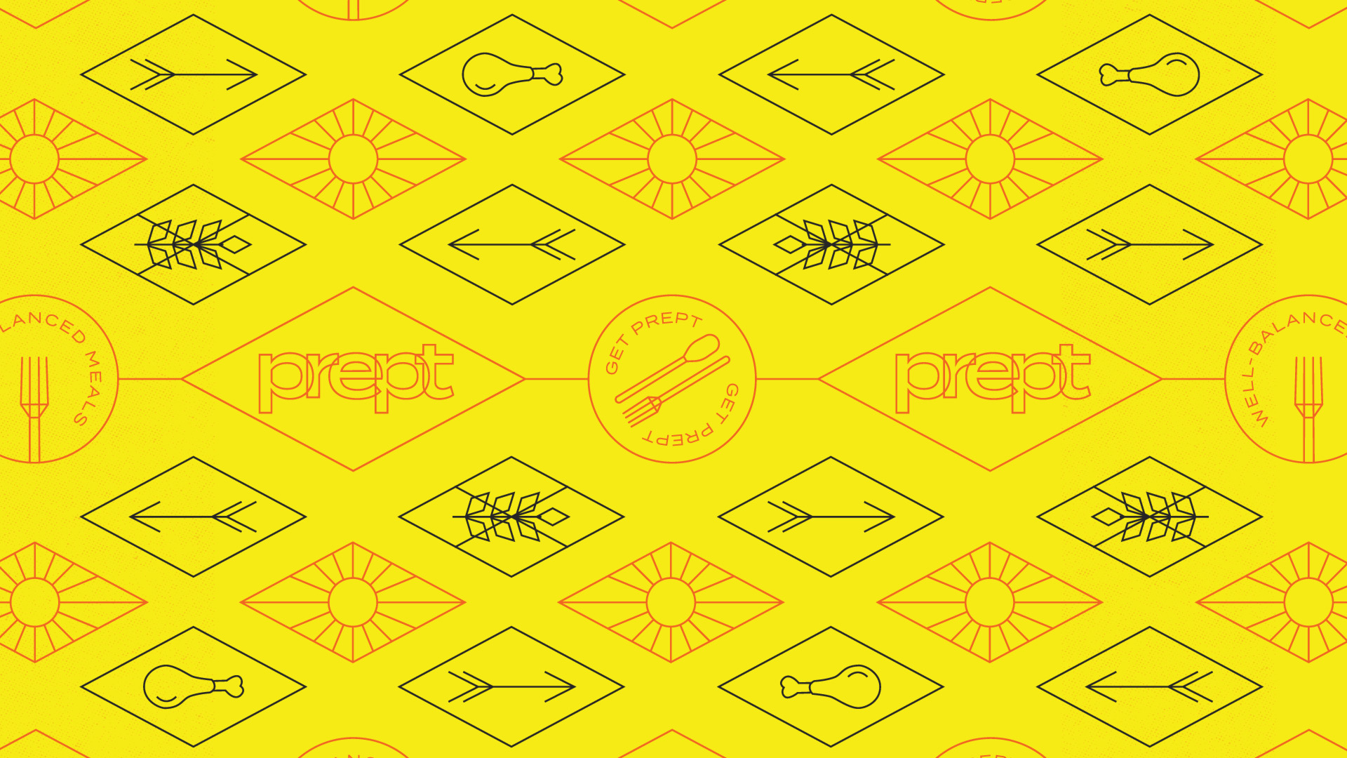 meal-delivery-branding-pattern-yellow