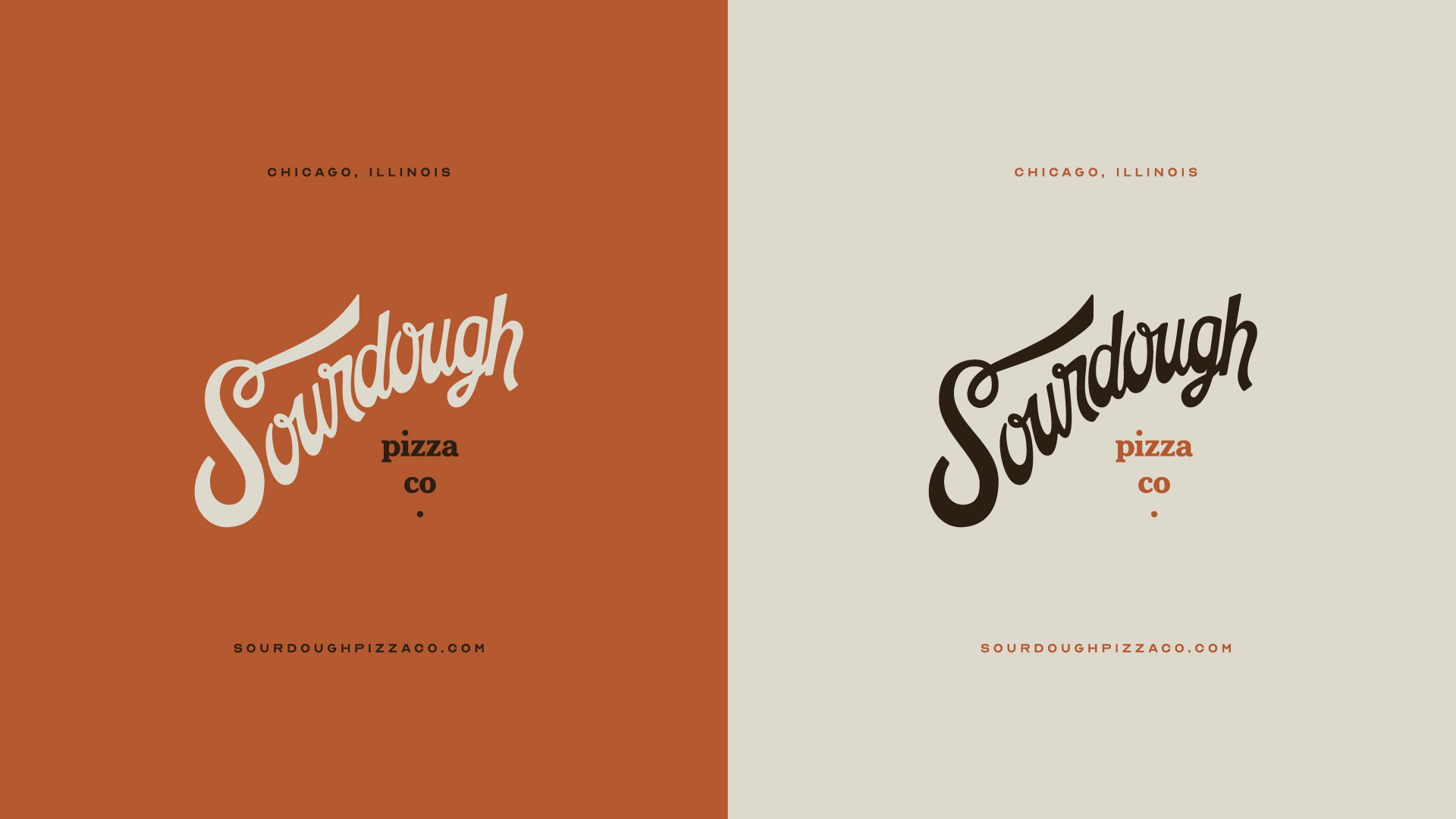 Sourdough Pizza Co Branding by Longitude° - Springfield, MO