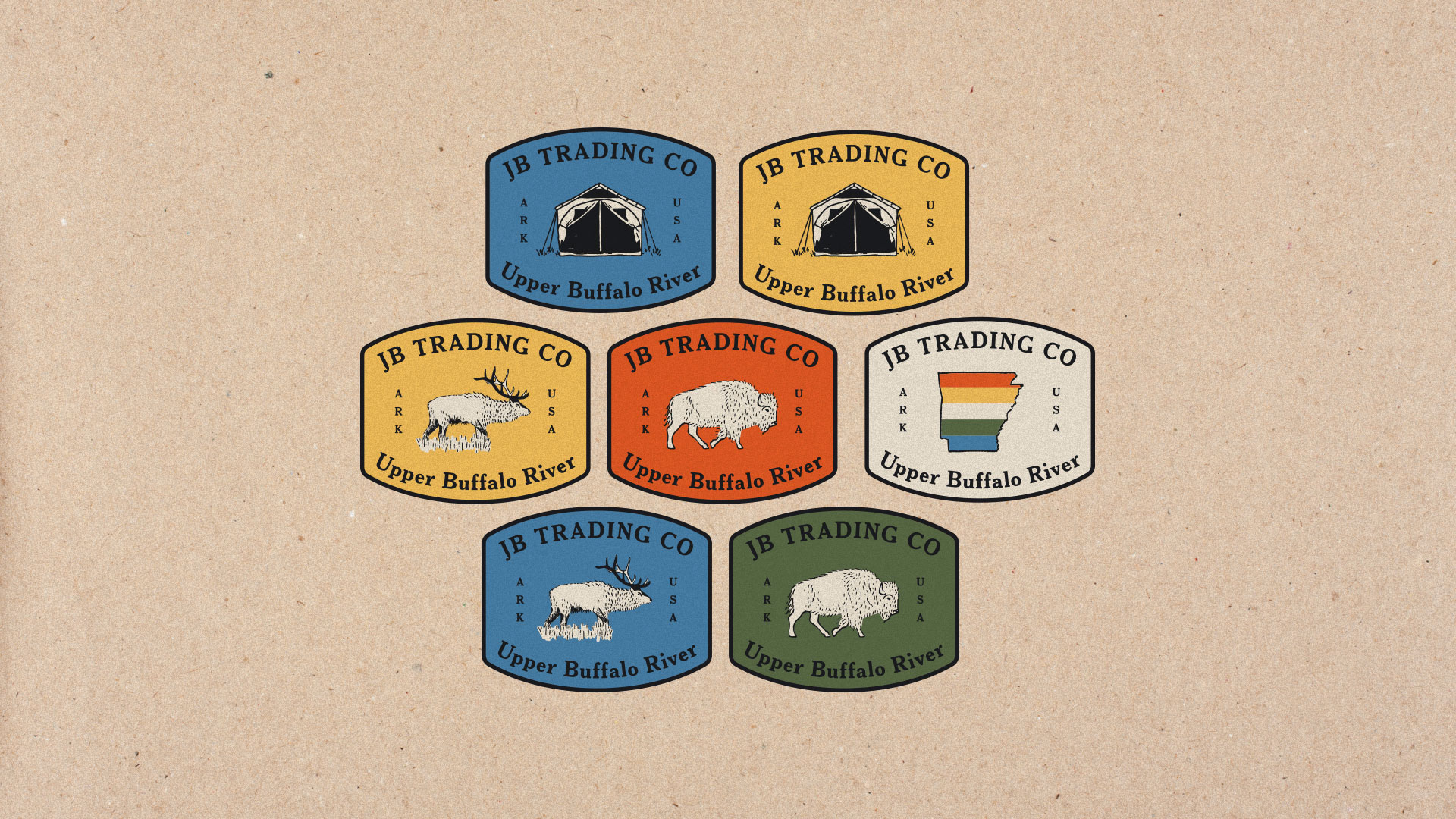 Camp Patch Designs by Longitude Branding, Springfield, MO