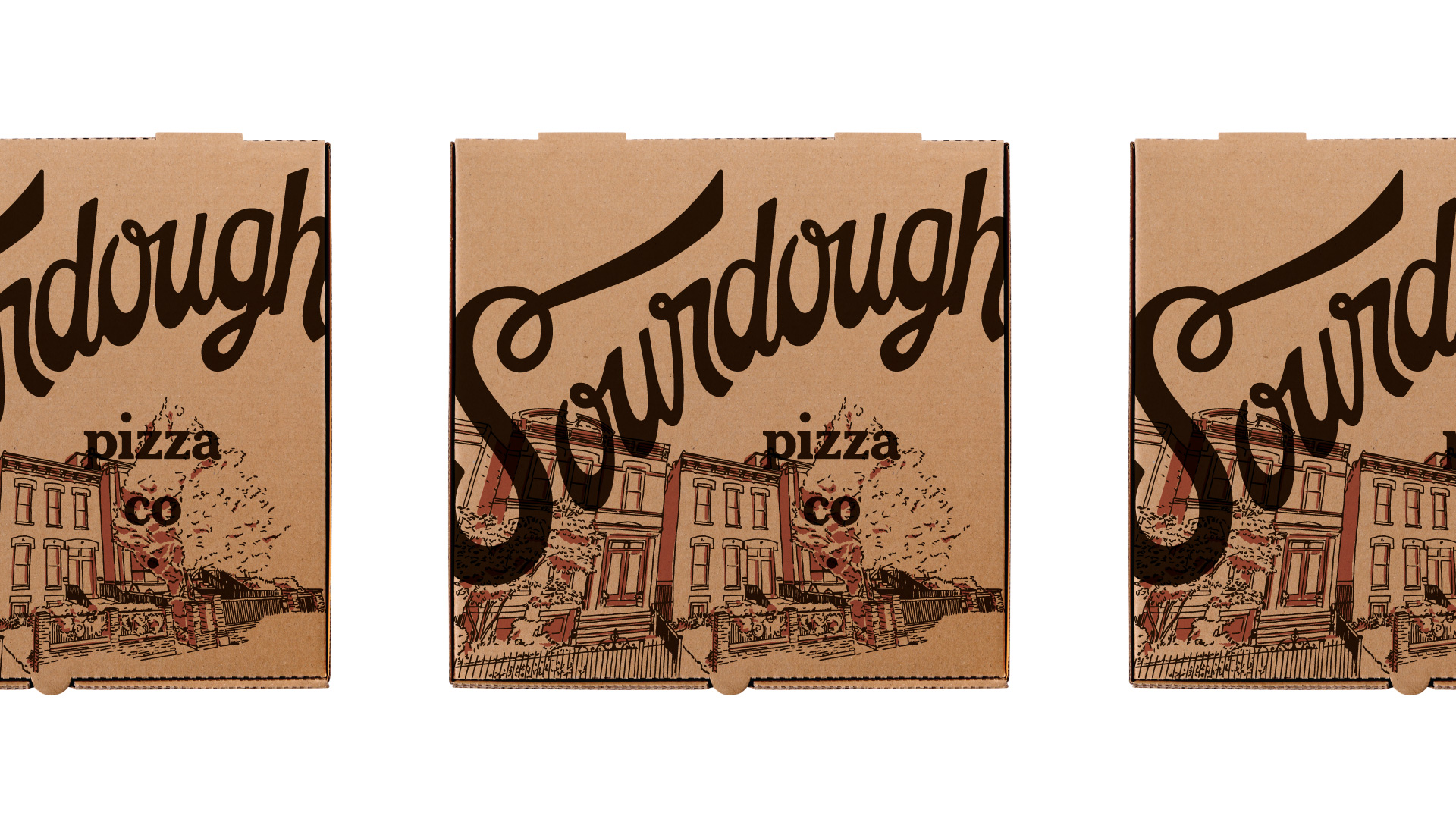 pizza box for chicago pizza brand
