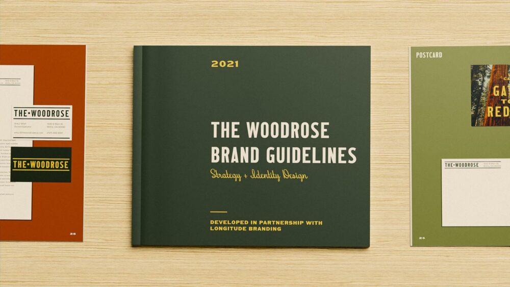 Motel branding guidelines books