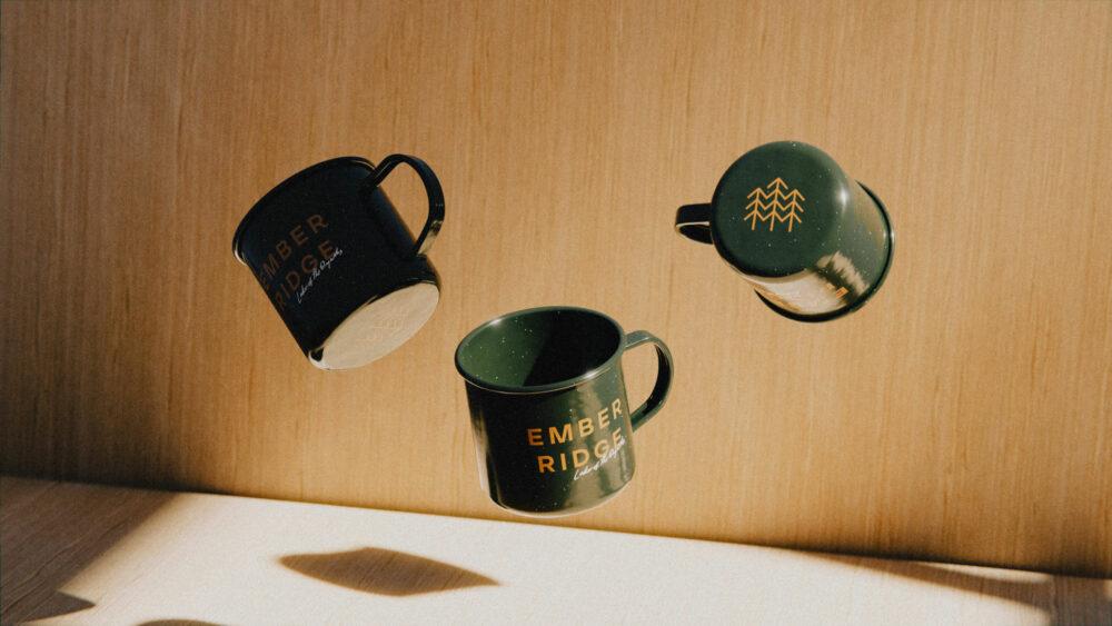 branded coffee mugs for luxury resort lodge